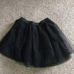 Rue21 plus size black tulle skirt